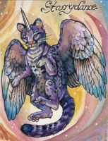 Starrydance Conbadge by windfalcon