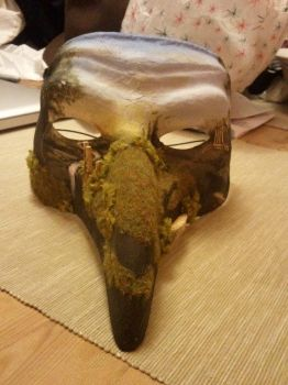Three Dimensional Masquerade Mask by FortuneandGlory