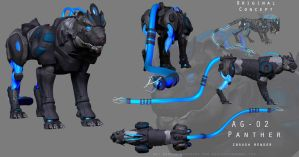 PANTHER - render by GlacialTephrite