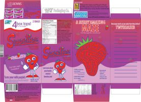 Sweeties Cereal Box Design by HiguchiPhoenix