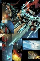 mighty thor 6 page 6 colored by JUANCAQUE