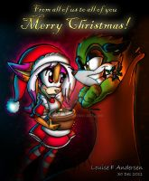 From all of us to all of you Merry Christmas by lu-raziel