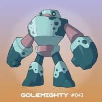 043 Golemighty by TerryTibke