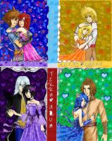 Kingdom Hearts Couples Complete by rinounahearts