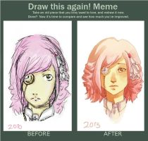 Draw this again meme by soyshi