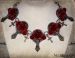Vampire's Requiem Collar Necklace by Necrosarium