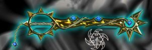 Light Bright Keyblade by dyyor