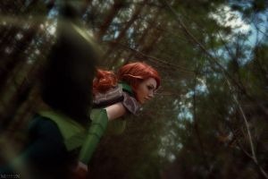 DotA 2 - WindRanger - I'm way ahead! by MilliganVick