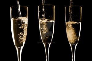 Champagne In Threes by Spanishalex