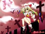 Flandre Scarlet - Red Moon by armenci