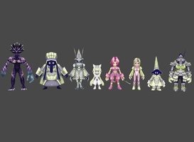 FF9 Trance pack by Lopieloo
