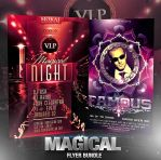 PSD Magical Flyer Bundle - 2in1 by retinathemes