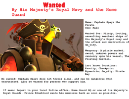 Wanted Spays poster by Miel1994