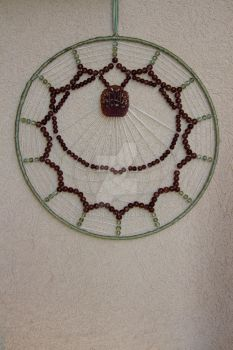 Heart of a Rose Dream Catcher by Evaron