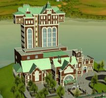 Tower of Terror RCT3 by Coasterdl