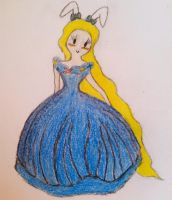 Fionna as Cinderella by MyLavenderGhost
