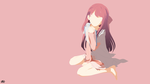 Rin (Shelter) Minimalist Wallpaper by slezzy7