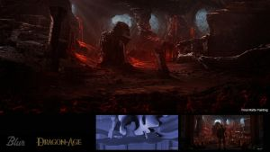 Dragon Age Cave by JJasso
