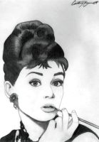 Audrey Hepburn by CourtneyyChristine