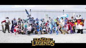 League of Legends by FairyScarlet