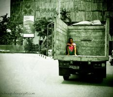 Alone in The Truck by nuhuup