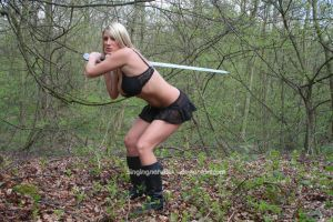 Warrior Queen - 28 by Singingnaturist