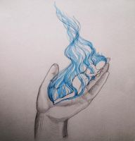 Fire by its hand by kackalina