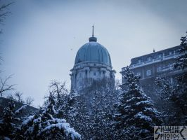 The dome in blue by 5haman0id