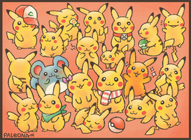 pika party by Paleona