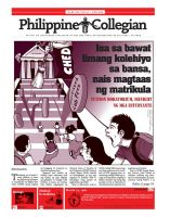 Philippine Collegian issue 27 by kule-0809