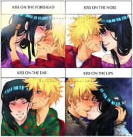 KISS MEME: NaruHina by tanginova