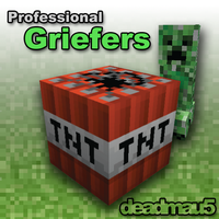 Deadmau5 - Professional Griefers - Album Art by rmc008