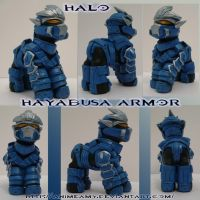 Master Chief Hayabusa Armor by AnimeAmy