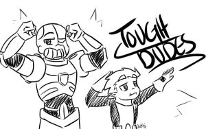 Day 25: Tough Dudes by Artistic-Winds
