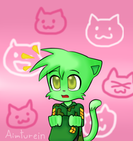 Neko Flippy? by aimturein