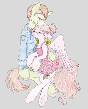 Birthday gift for my best friend :3 by just-agu