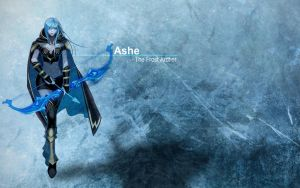 Ashe - League of Legend. by Jmpv