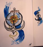 Anchor and Compass by AlanJunior