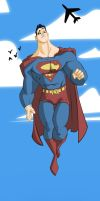 Superman by Kanish by the-batcomputer