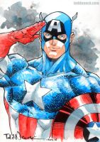 Captain America by ToddNauck