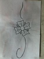 Tattoo Flower by HannahLynn143