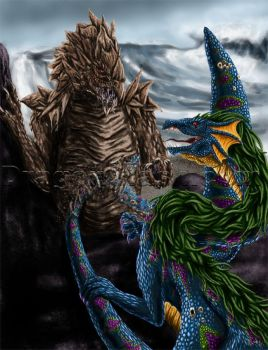 DragonClash: Putty Scales by TheDragonofDoom