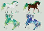 Random Gradient Icogan Designs by SweetLittleVampire