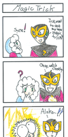 Elec's... Magic Trick? by The-One-True-Koneko