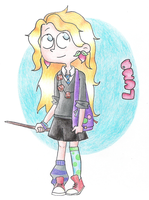 Luna Lovegood by ichadoggi