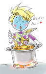 golden curry by frieza-love