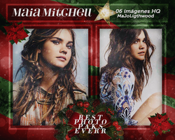 Photopack 6168 - Maia Mitchell. by BestPhotopacksEverr