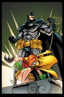 Batman and Robin by RossHughes