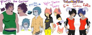 Dem Pokemisfits by HastyLion