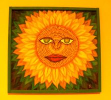 sunflower by voliart